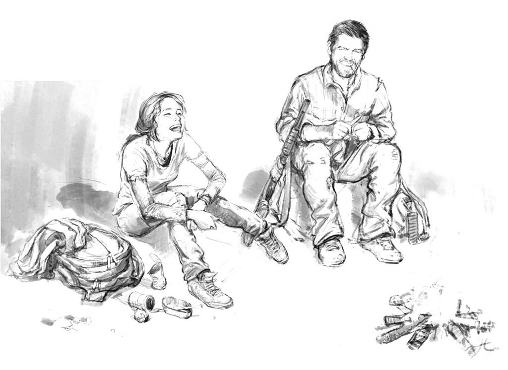 boceto last of us