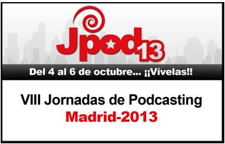Votadnos para poder estar haciendo un podcast en directo en Madrid