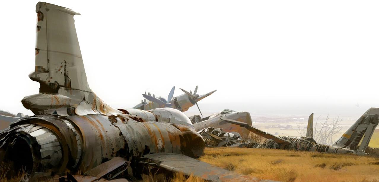 destiny aviones blanco