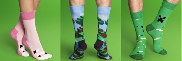 minecraft calcetines