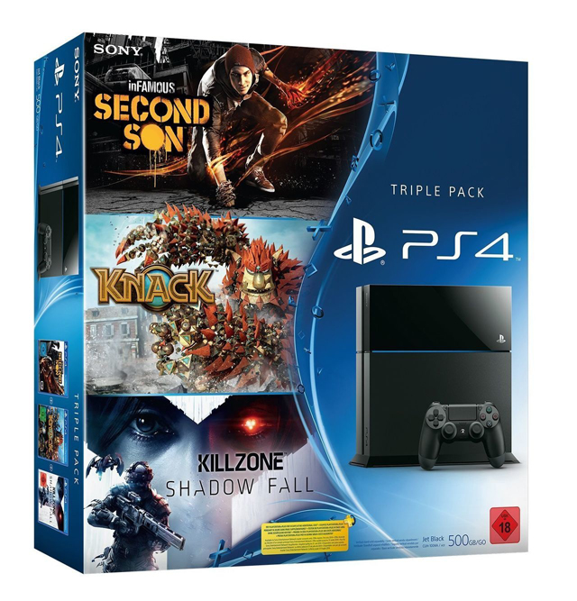 Triple Pack PS4