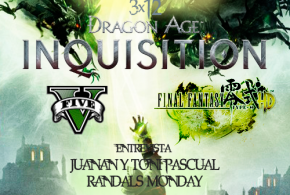 "<small class=""subtitle""> Aparcamos Dragon Age: Inquisition un momento para grabar el programa </small> AntiHype 3×12: Dragon Age: Inquisition, GTA V, Final Fantasy Type-0 HD y entrevista Randal's Monday"