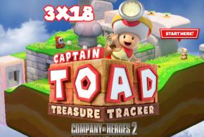 """<small class=""""subtitle""""> Presentando a nuestro fichaje de invierno </small> AntiHype 3×18: Captain Toad: Treasure Tracker, Company of Heroes 2: Ardennes Assault y entrevista a Eva Gaspar"""
