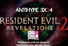"""<small class=""""subtitle""""> Aviso: venimos cargados de noticias y juegos </small> AntiHype 3×24: Resident Evil: Revelations 2, Oddworld: New 'N' Tasty!, OlliOlli 2 y entrevista Memorias: más allá del juego"""