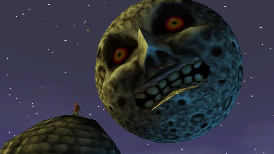 zelda majora´s mask  luna