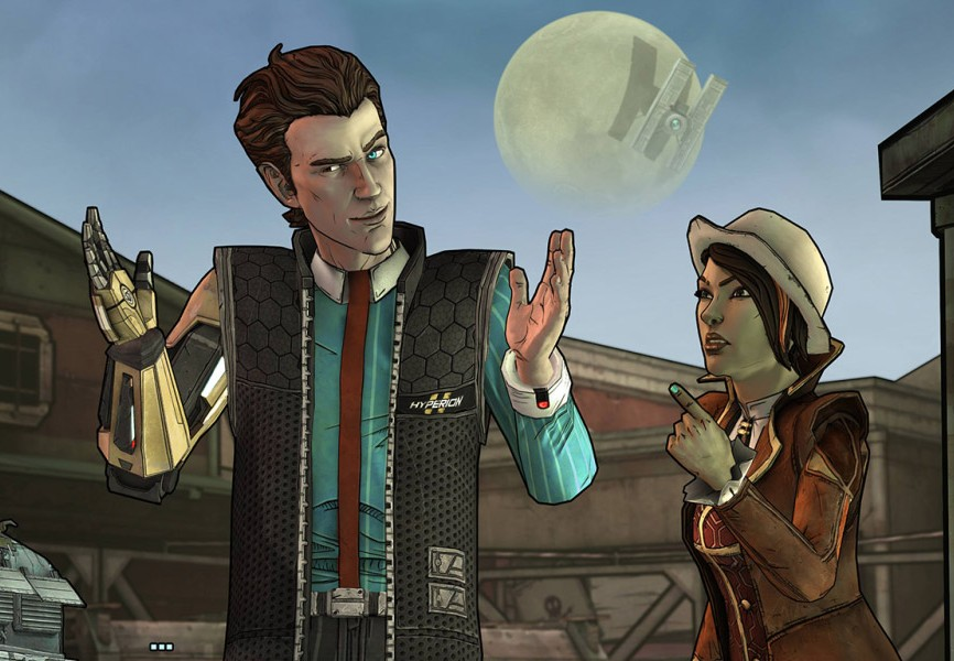 TALES BORDERLANDS SCREENSHOT 2