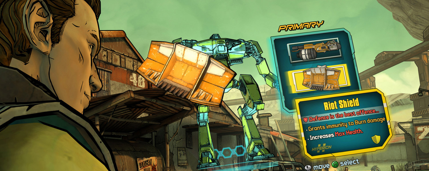 TALES BORDERLANDS SCREENSHOT 5
