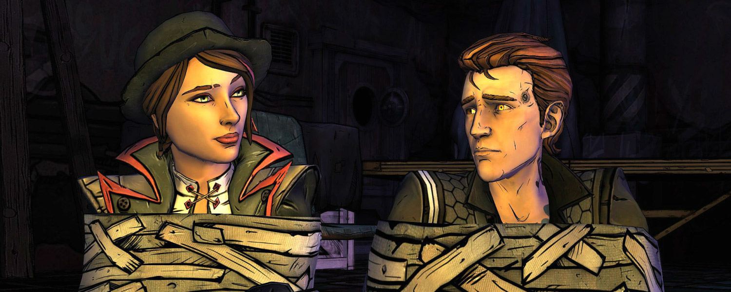 TALES BORDERLANDS SCREENSHOT