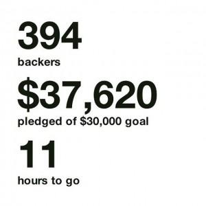 Kickstarter (I): Tarde, mal o nunca