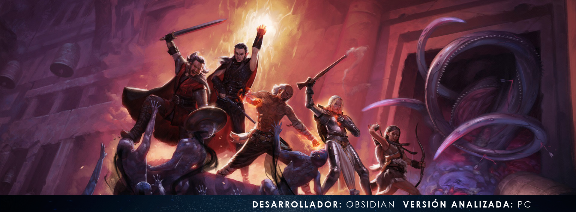 Logo cabecera analisis Pillars of Eternity