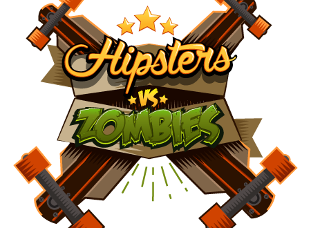 Hipsters vs Zombies Logo