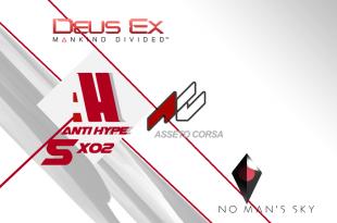 Antihype 5x02 Deus Ex Mankind Divided , No Man´s Sky , Assetto Corsa
