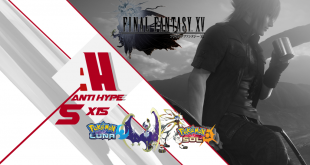 Antyhype Final Fantasy XV Pokemon Sol y luna