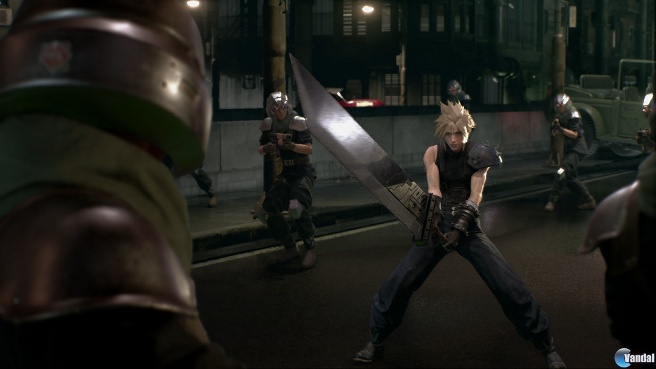 square enix final fantasy vii remake antihype