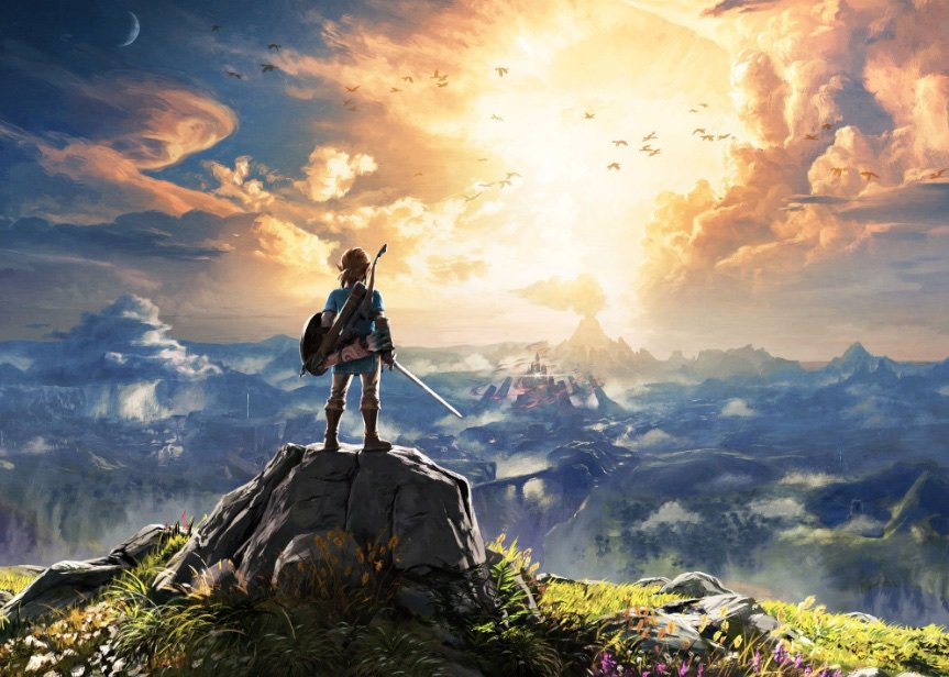 zelda breath of the wild antihype wii u