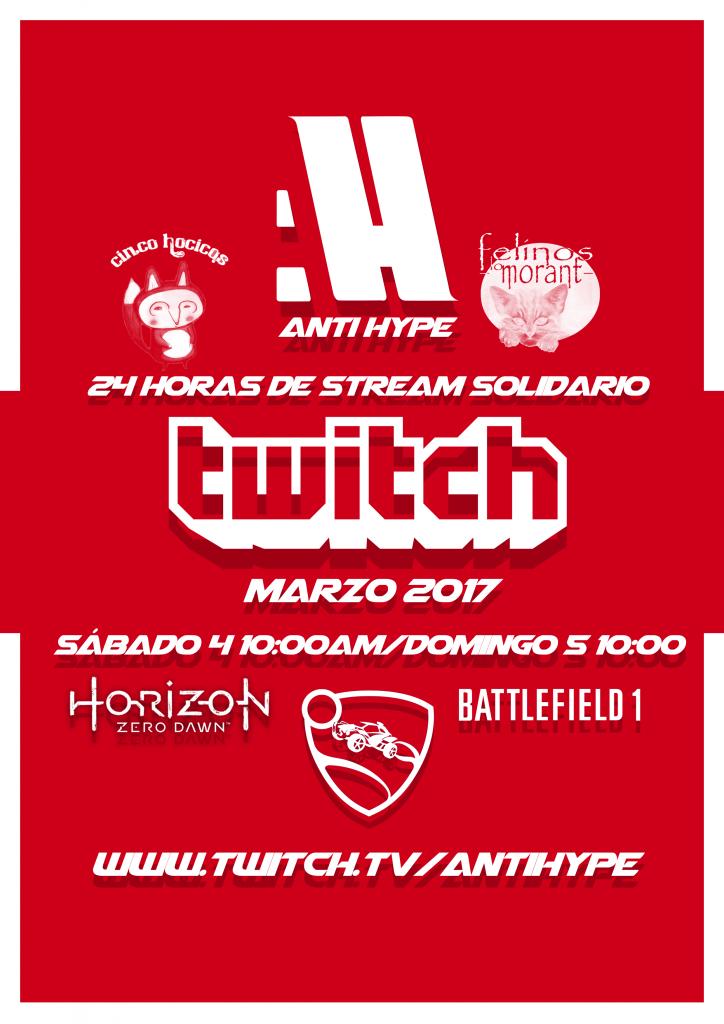 Stream solidario AH