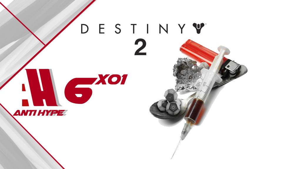 Portada Antihype 6x01: Avance Mario Odyssey y Destiny 2