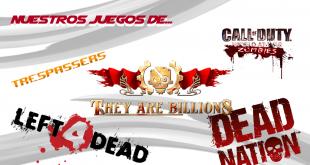 Nuestros juegos de...zombies frontal web