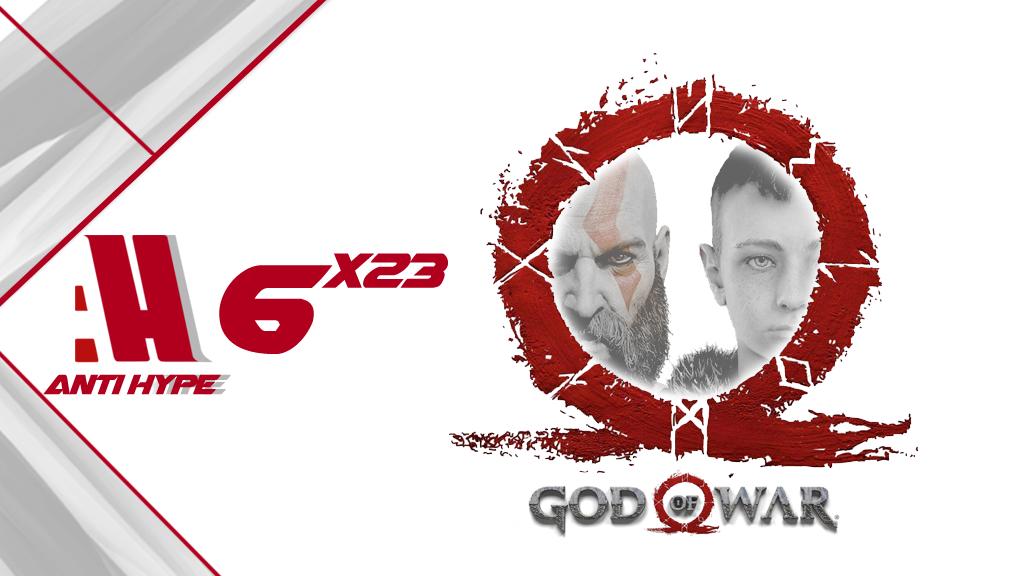 Portada antihype 6x23: god of war