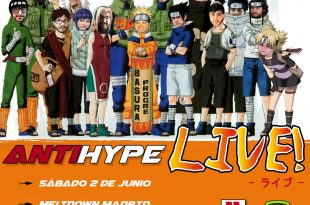 Cartel presencial podcast Antihype