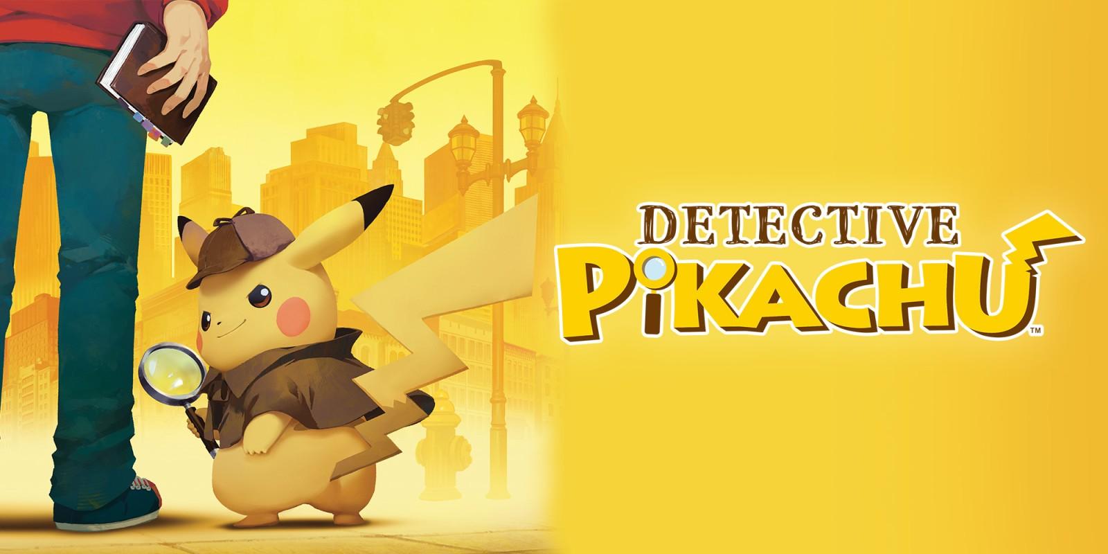 Detective pikachu front