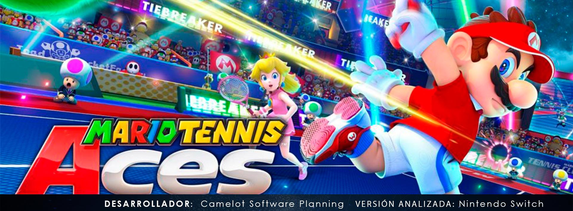 Mario tennis aces front ah